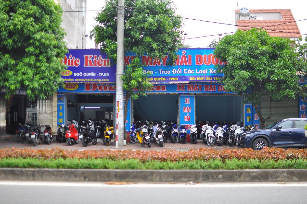 cửa hàng xe máy cũ tại Hải Dương 2